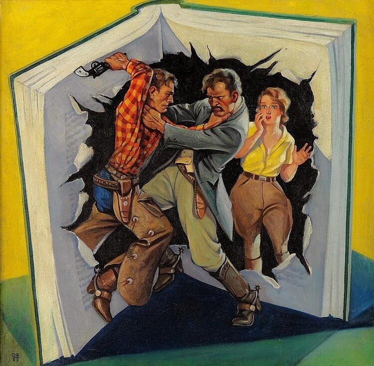 Complete Western Book Magazine June 1933